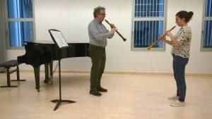 Masterclass de oboe barroco con Andrea Mion