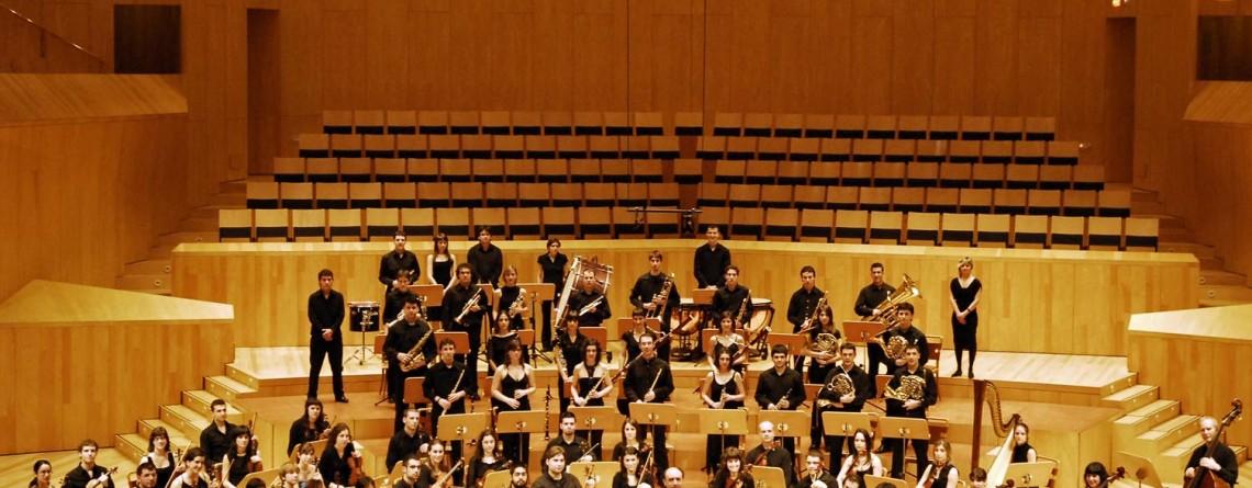 Listado de alumnos para la orquesta. Orkestrara joango diren ikasleen zerrenda