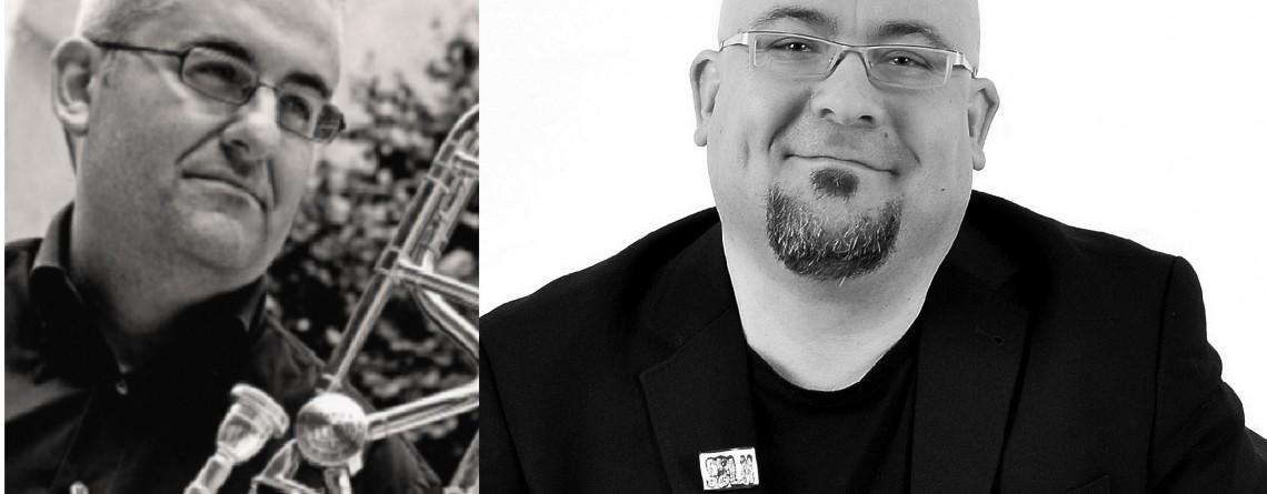 Masterclass de trombón. Carlos Gil e Indalecio Bonet