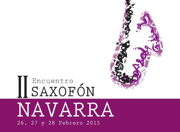 II encuentro de saxofón en Navarra