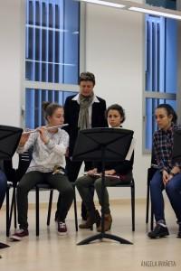 Masterclass de flauta con Marie Paule Milone