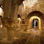 Visita al monasterio de Leyre organizada por el departamento de musicología