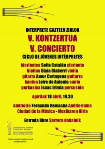 cartel V concierto corregido