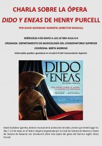 Charla Dido y Eneas