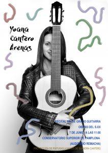 Guitarra. Yoana Cantero
