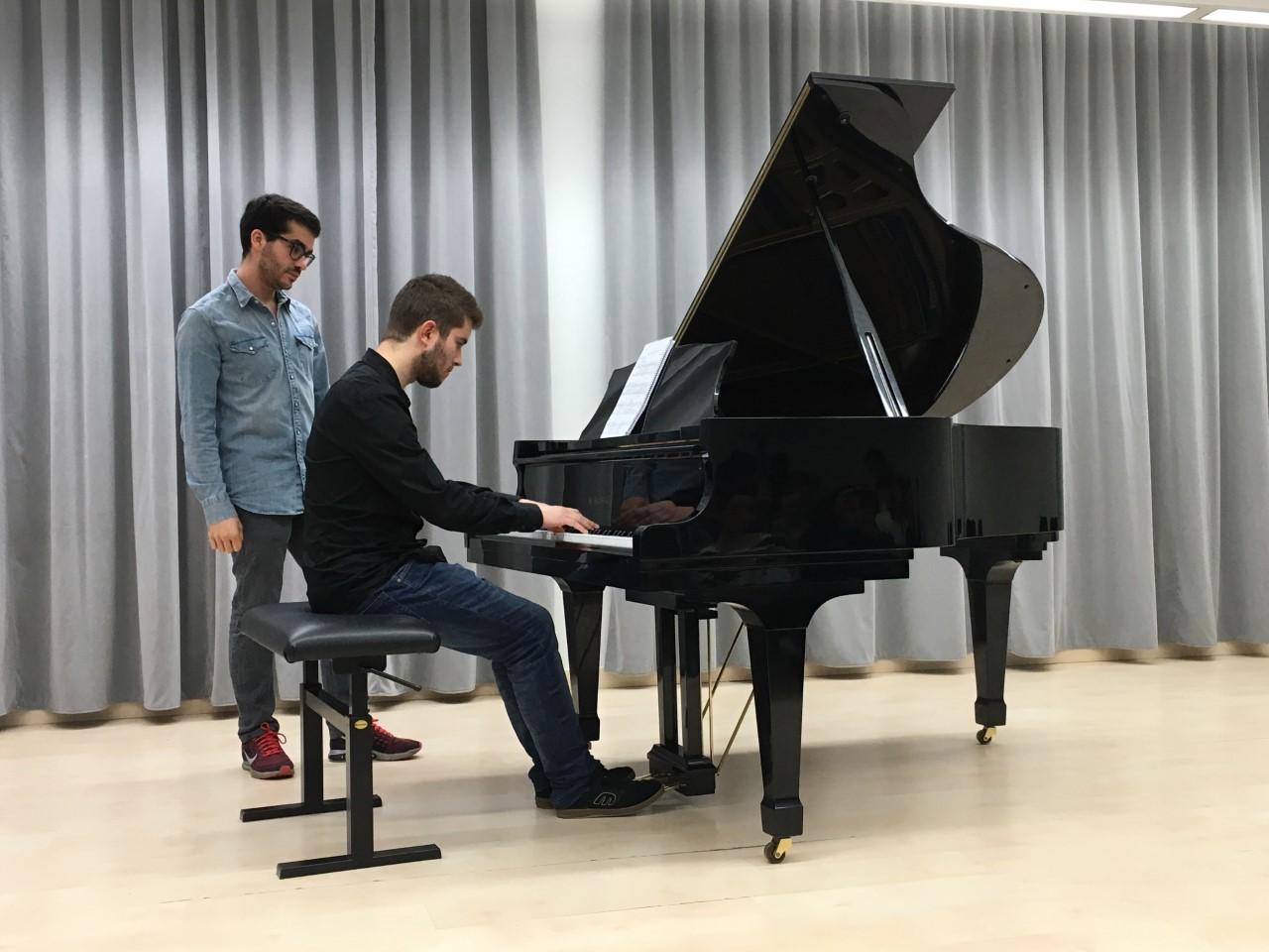 Hiram Vega y Juan Pérez Floristán