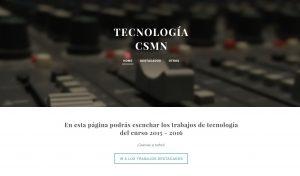 Tecnología 2015-2016