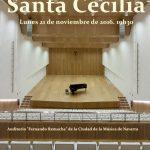 Acto de conmemoración de la festividad de Santa Cecilia