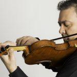 Masterclass de violín. Alfredo García