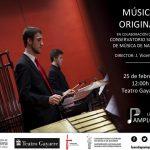 Concierto de la Pamplonesa con la colaboración de alumnos del CSMN