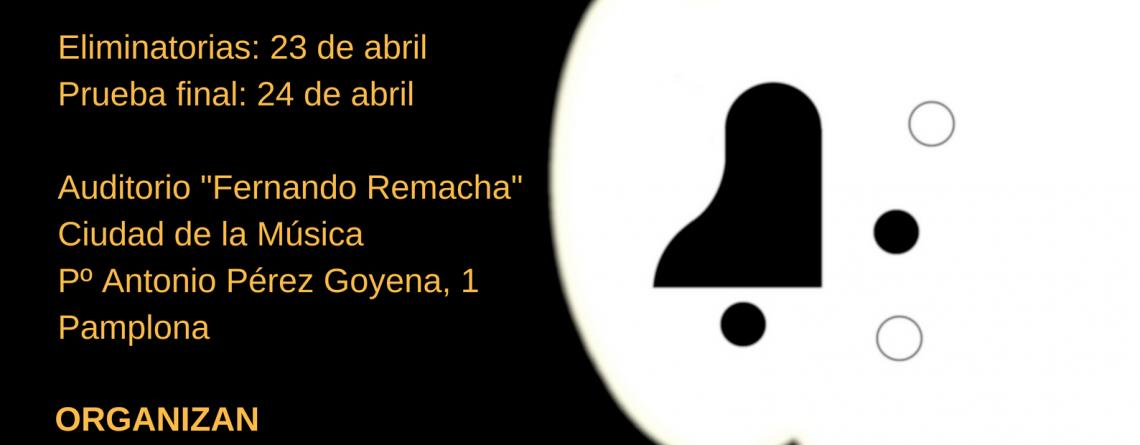 "XIV Concurso de Música de Cámara ""Fernando Remacha"""
