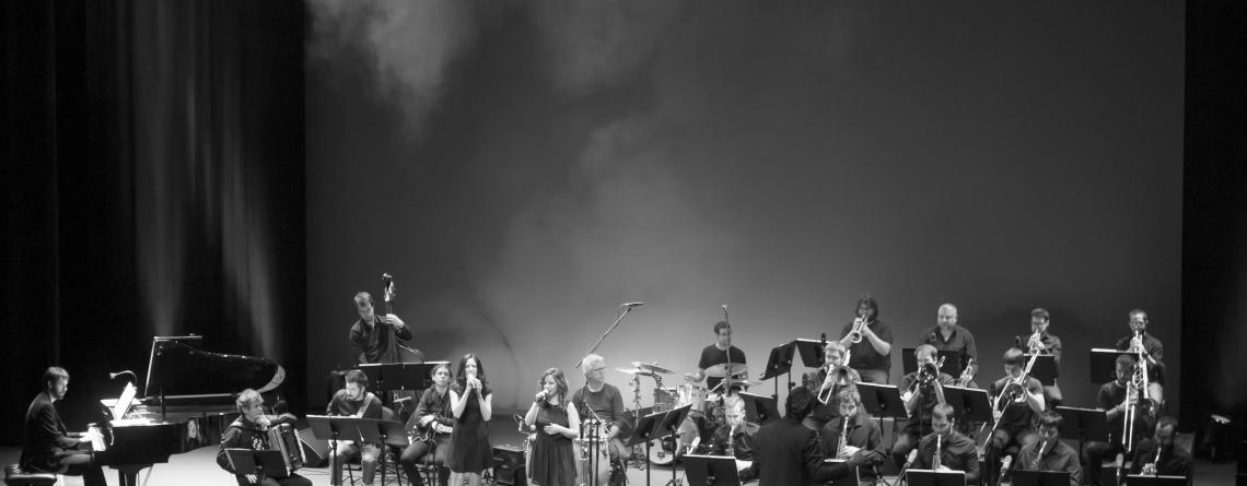 "Concierto de la Big Band del CSMN. Proyecto ""Italian Jazz C.R.E.A."""