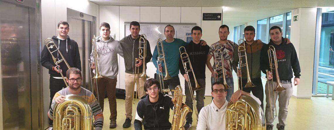 Low Brass Ensemble. Presentación.