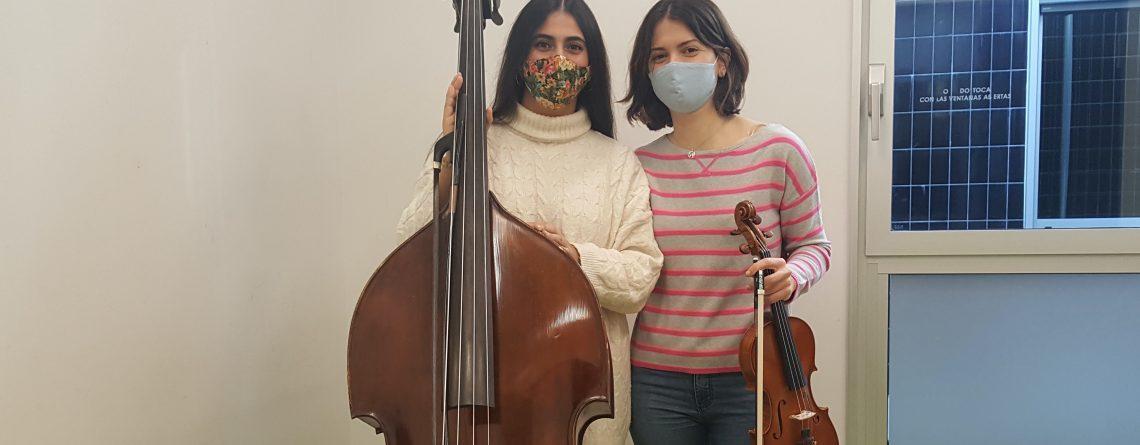 Alumnas del centro admitidas en la bolsa de instrumentistas de la JONDE