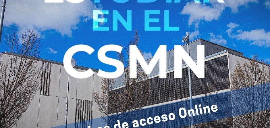 Pruebas de acceso al CSMN. Curso 2021/22